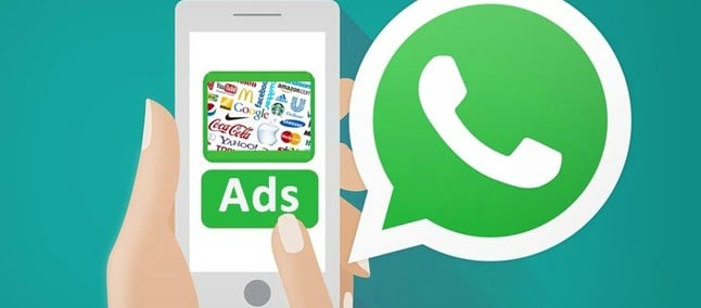 advertisements in whatsapp