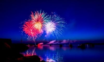 Firework Colours dazzling in the sky