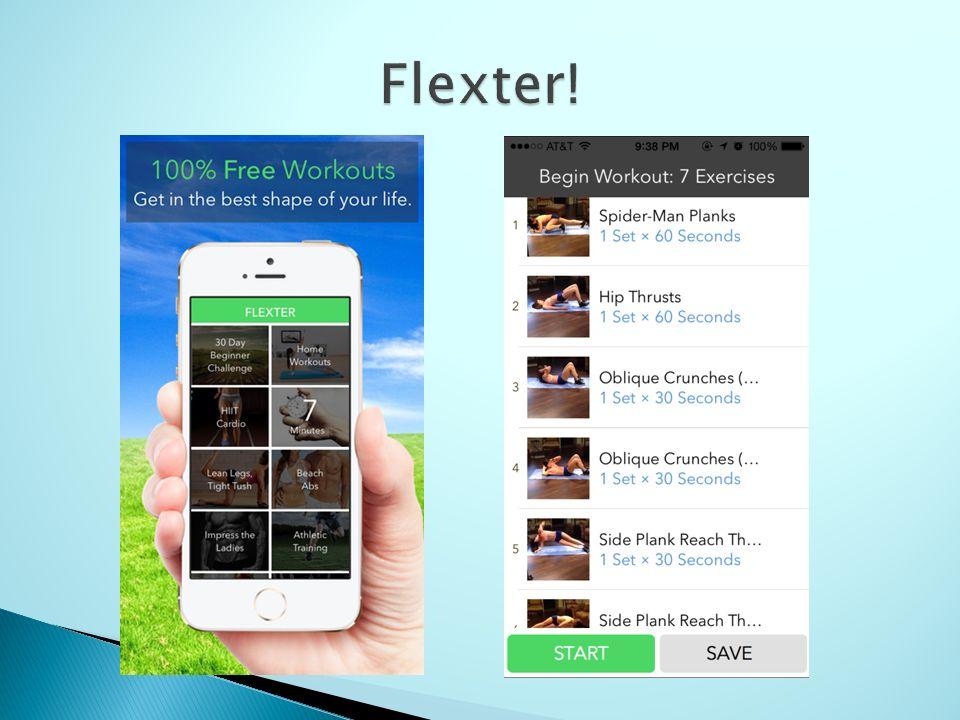 workout app - flexter