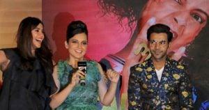 Ekta Kapoor, Kangana Ranaut, Rajkumar Rao