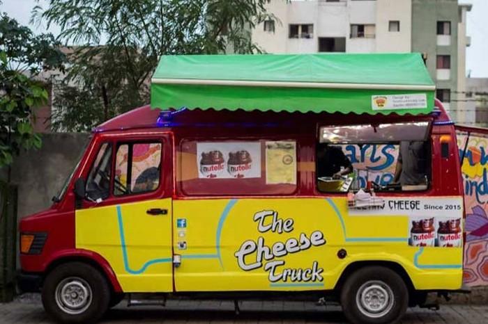 the cheese truck - food trucks