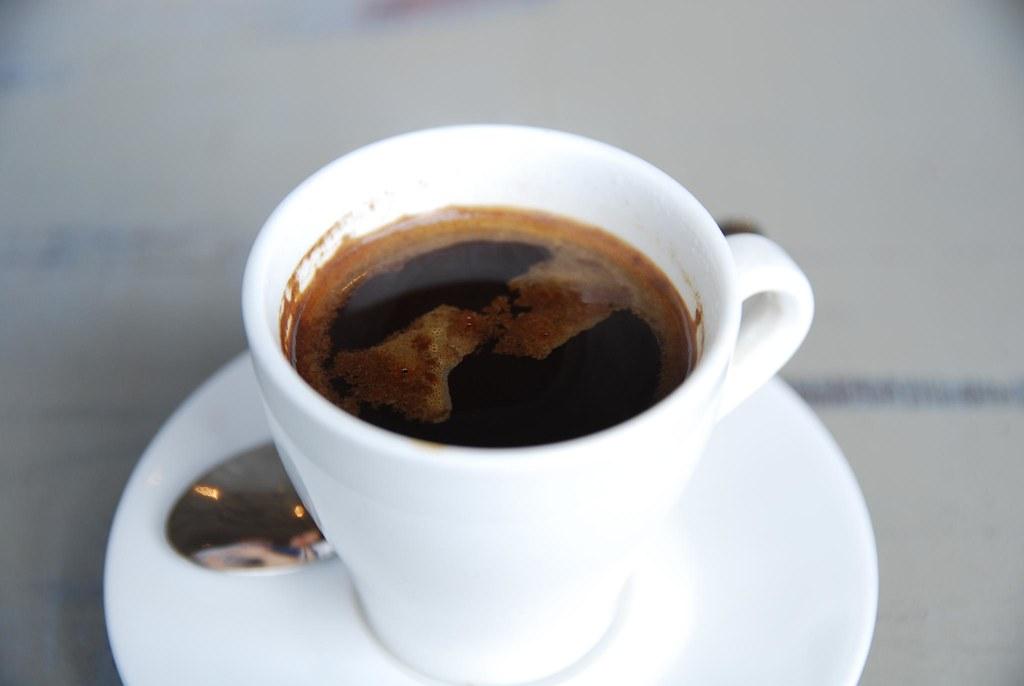 variants of coffee- long black