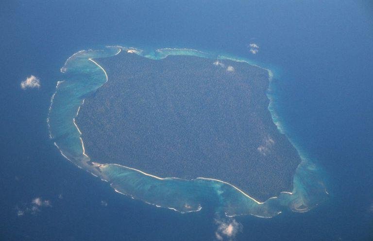 North Sentinel Island, India forbidden places