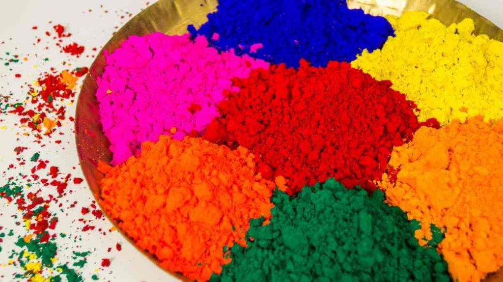 Holi hack organic colour