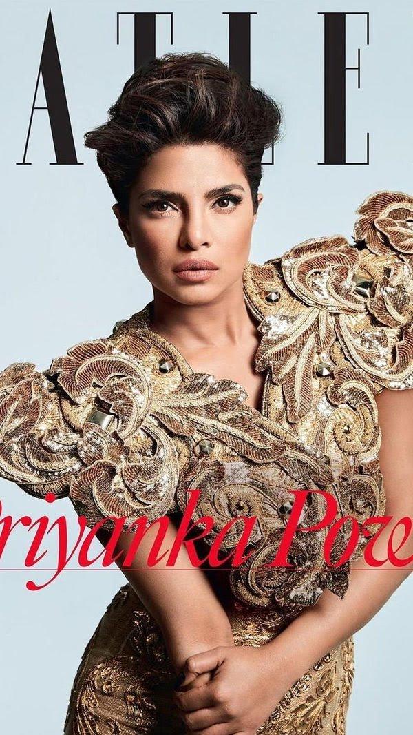 Priyanka Chopra Tatler Magazine