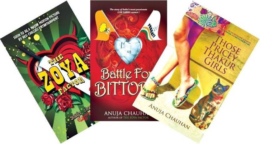 Anuja Chauhan and her books