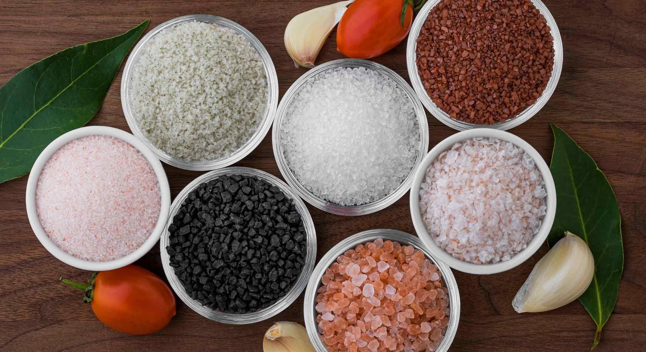 varieties of salt