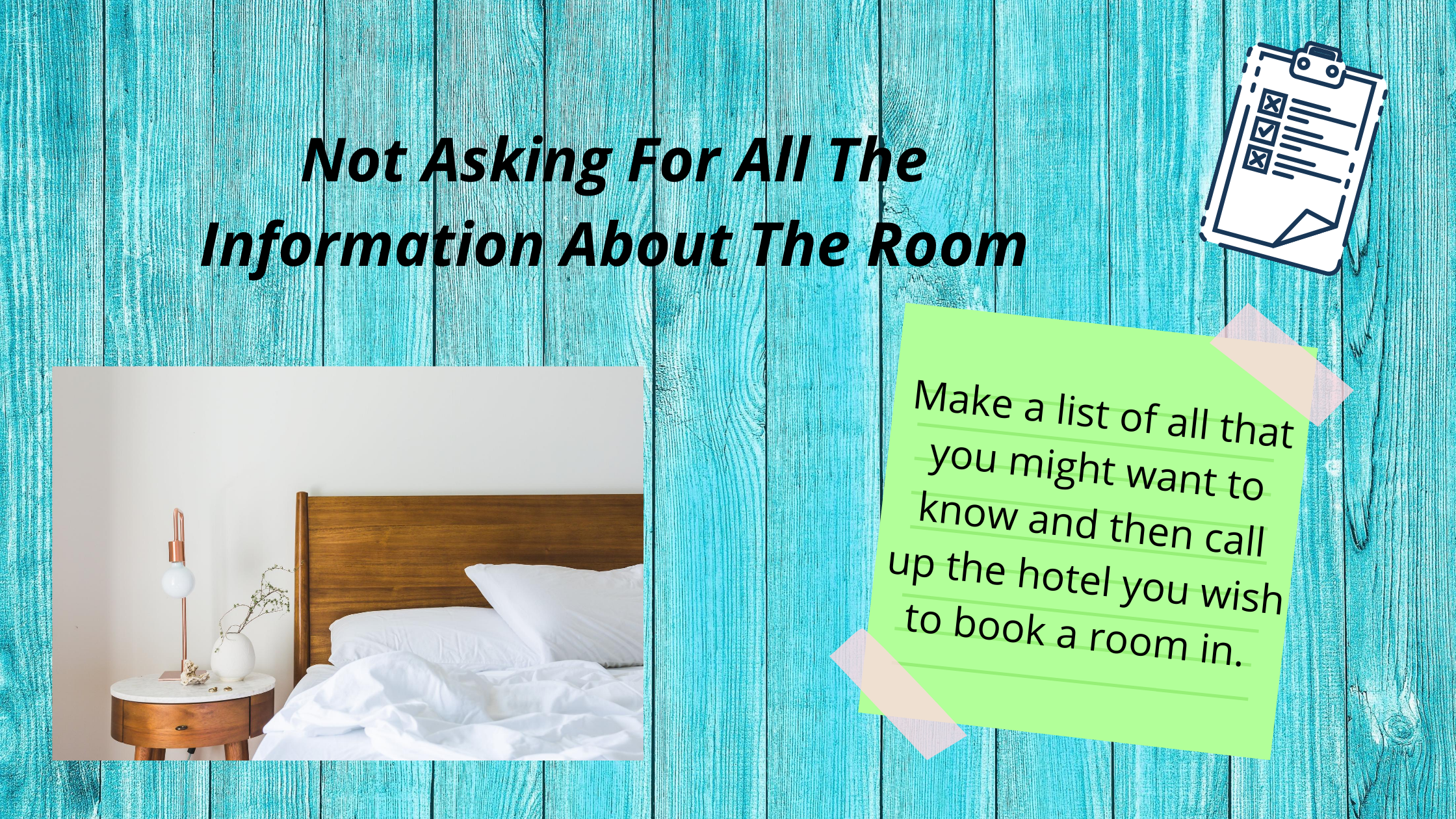 Mistakes While Booking Hotels
