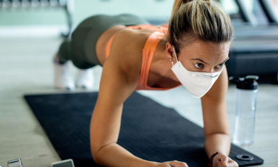 masks while exercising